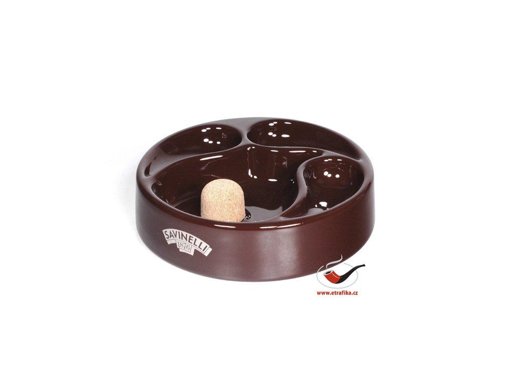 32627 1 pfeifenaschenbecher savinelli braun
