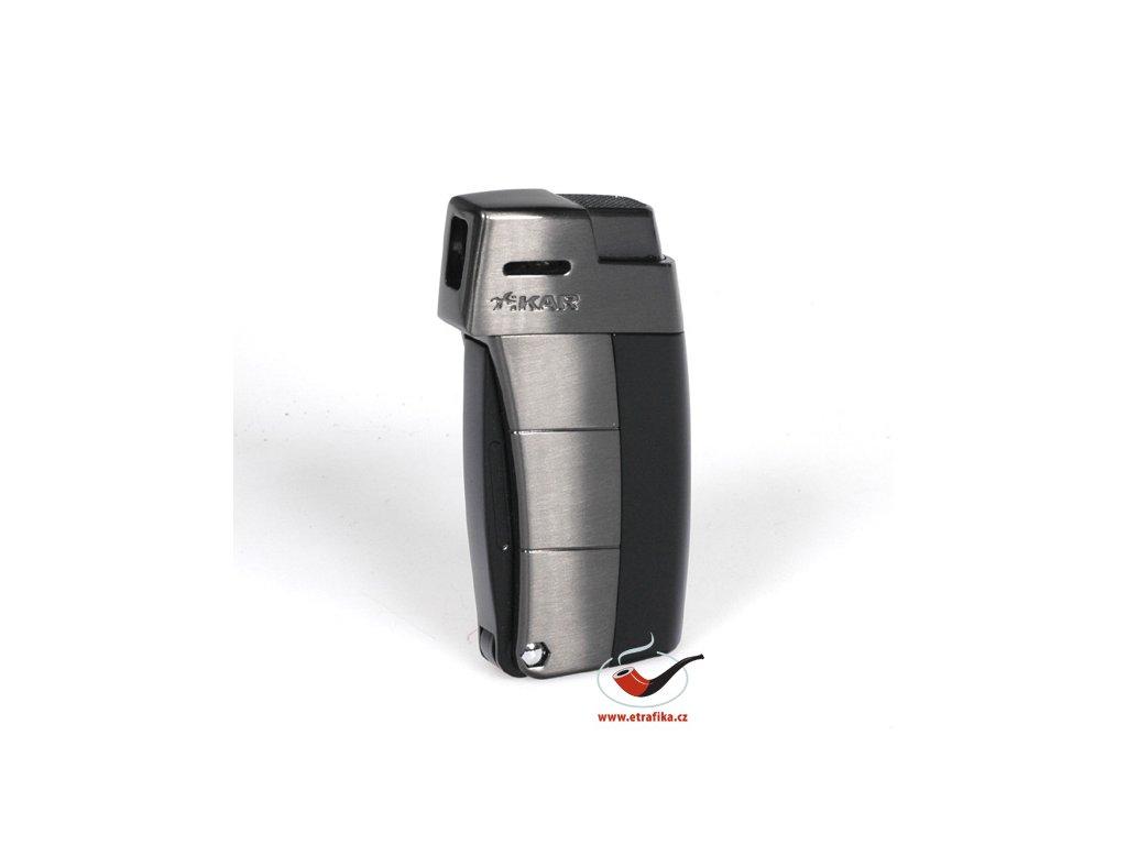 12359 5 pfeifenfeuerzeug xikar 585bkg2 black g2 trim