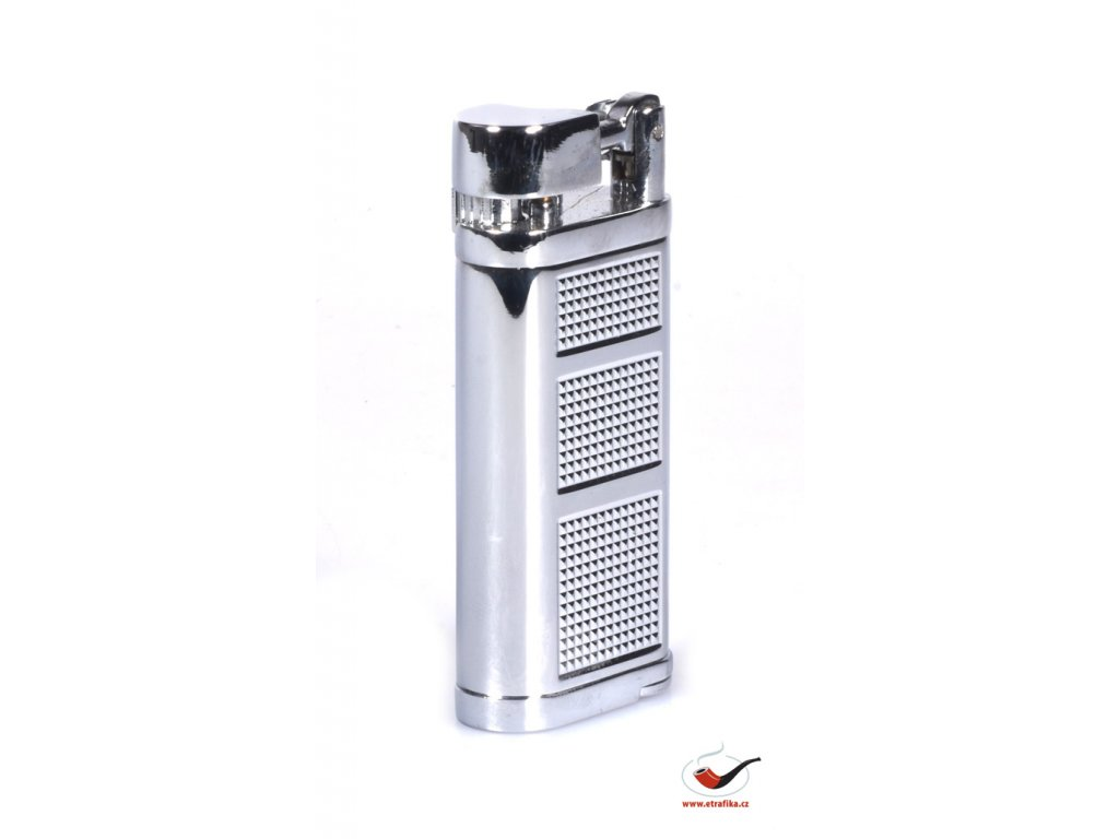 12365 1 pfeifenfeuerzeug xikar 595bk pipeline chrome silver