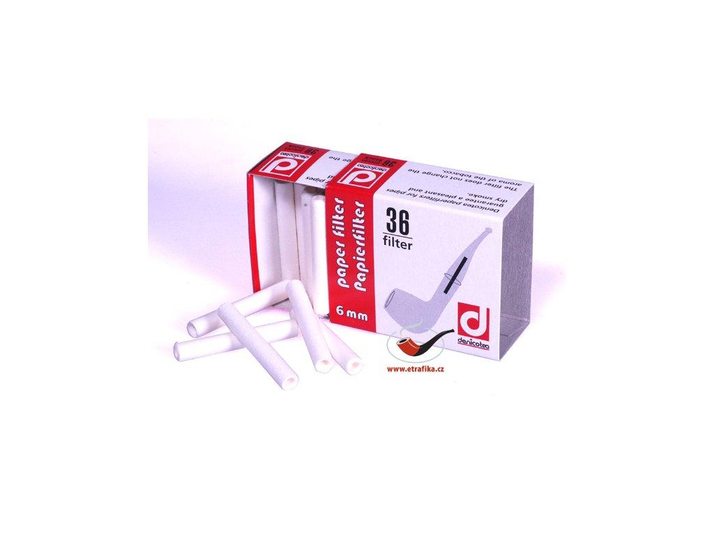 11747 1 pfeifenfilter papier denicotea 6 mm 36