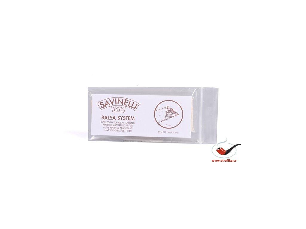11705 pfeifenfilter savinelli balsaholz 6 mm
