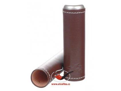 12398 2 lederetui fur 1 zigarre xikar brown