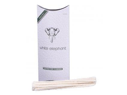 35339 pfeifenreiniger white elephant we100pc cotton 100
