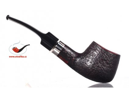 Pfeife Stanwell Sterling Black Sandblack 11