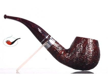 Pfeife Savinelli Bacco Rusticated Dark Brown 645