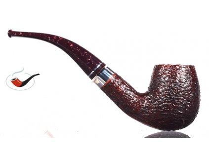 Pfeife Savinelli Bacco Rusticated Dark Brown 602