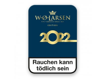 Pfeifentabak W.Ø.Larsen Edition 2022 Dose 100g