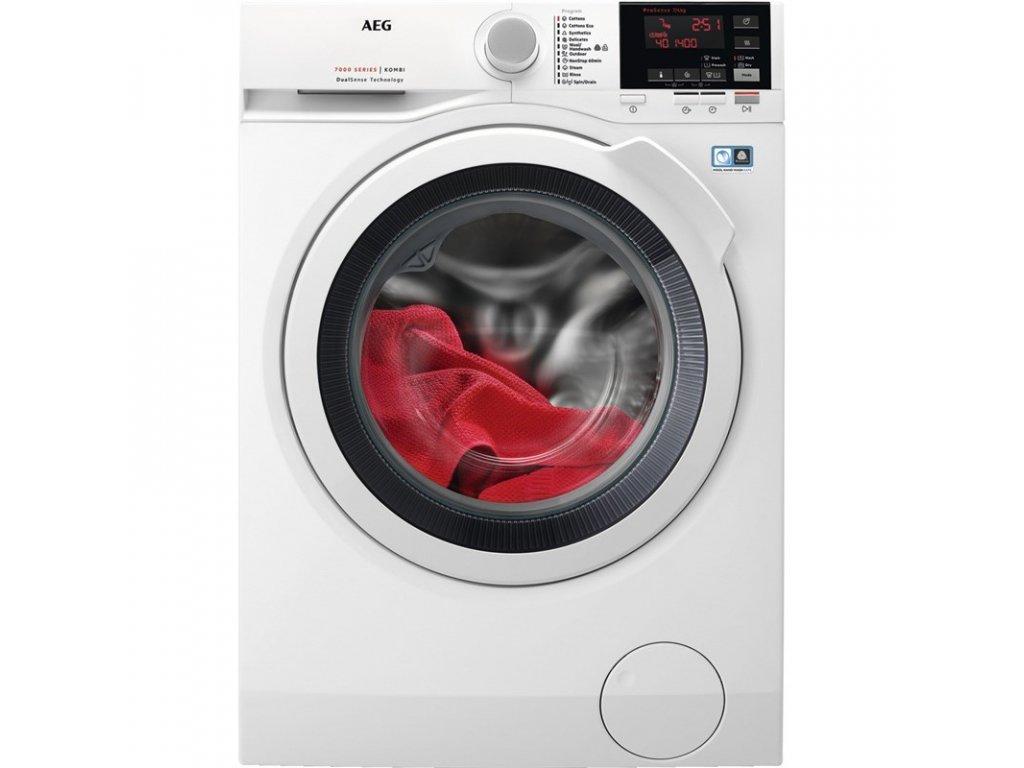 Pračka/sušička AEG Dualsense® L7WBG47W  + Míčky vlněné do sušičky, 3 ks