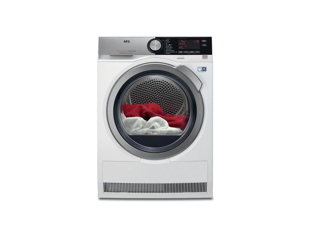 Sušička prádla AEG AbsoluteCare® T8DBC49SC  CASHBACK 3000,- Kč PŘI REGISTRACI NA STRÁNKÁCH AEG.cz