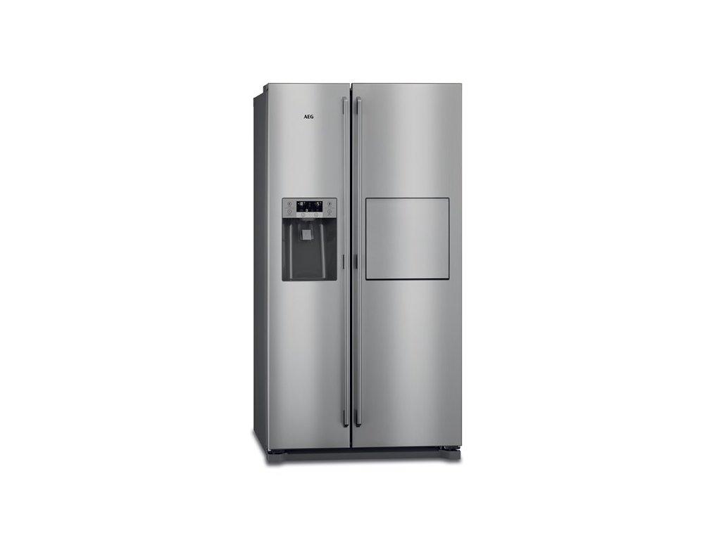 Chladnička amer. AEG RMB86111NX Side-by-Side, NoFrost