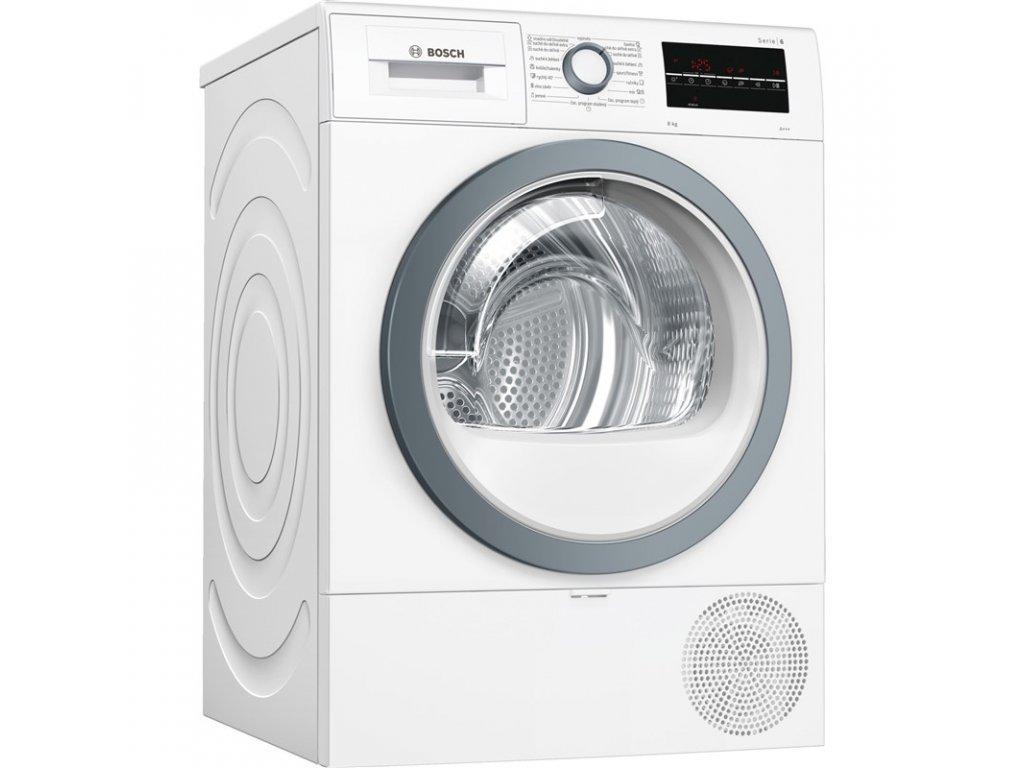 Sušička prádla Bosch WTR87TW0CS kondenzační  + Míčky vlněné do sušičky, 3 ks