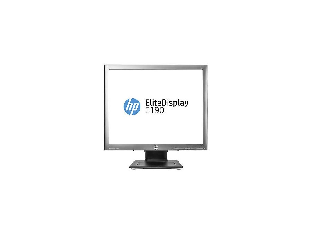 "LCD monitor HP EliteDisplay E190i 19"", LED, IPS, 8ms, 1000:1, 250cd/m2, 1280 x 1024, DVI"