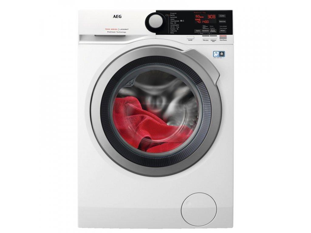 Pračka AEG ProSteam® L7FBE48SC bílá  + dárek vak na jemné prádlo + DOŽIVOTNÍ ZÁRUKA NA MOTOR