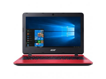 "Ntb Acer Aspire 1 (A111-31-C82A) Celeron N4000, 4GB, 64GB, 11.6"", HD, bez mechaniky, Intel UHD 600, BT, CAM, W10 S  - červený"