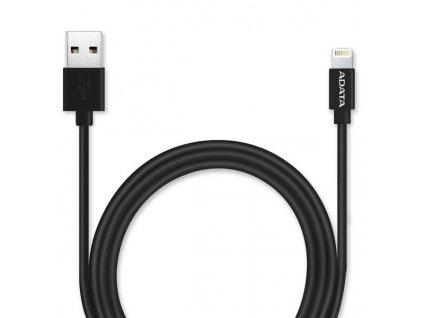 Kabel ADATA Sync & Charge USB/Lightning, 1m, MFi - černý