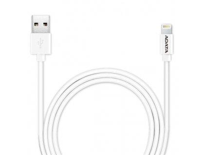Kabel ADATA Sync & Charge USB/Lightning, 1m, MFi - bílý