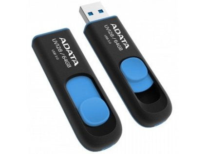 Flash USB ADATA UV128 64GB USB 3.0 - modrý
