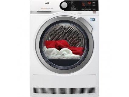 Sušička prádla AEG AbsoluteCare® T8DBE68SC  + Záruka 10 let na invertor motor + Míčky do sušičky, 3 ks
