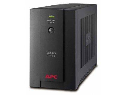 Záložní zdroj APC Back-UPS 1400VA, 230V, AVR, klasické zásuvky