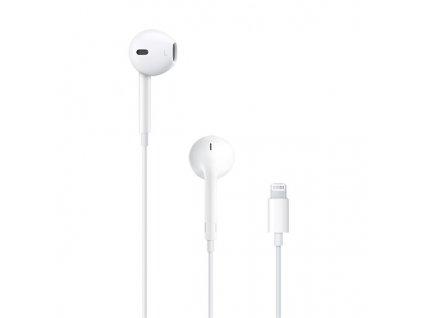 Sluchátka Apple EarPods Lightning - bílá
