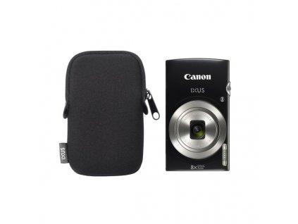 Fotoaparát Canon IXUS 185 + orig.pouzdro, černý