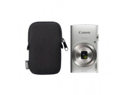 Fotoaparát Canon IXUS 185 + orig.pouzdro, stříbrný