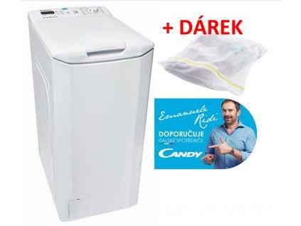 Pračka Candy CST 370L-S  + DÁREK VAK NA JEMNÉ PRÁDLO