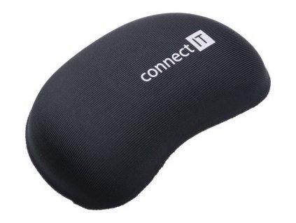 Podložka Connect IT zápěstní před myš - černá