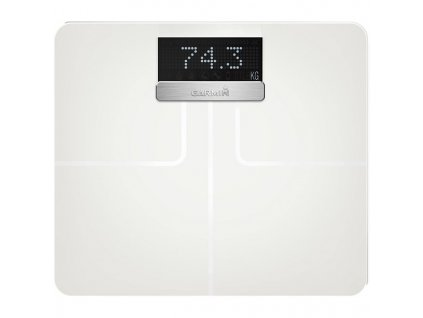 Osobní váha Garmin Index - chytrá váha, bílá