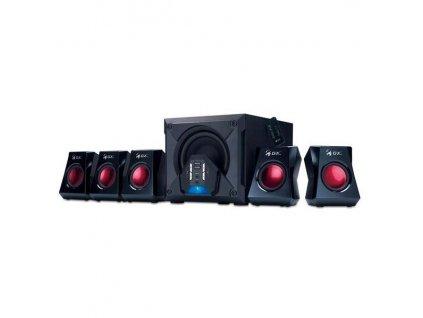 Reproduktory Genius GX Gaming SW-G5.1 3500 - černé/červené