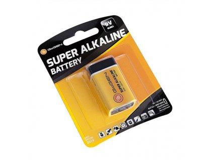 Baterie alkalická GoGEN SUPER ALKALINE 9V, blistr 1ks