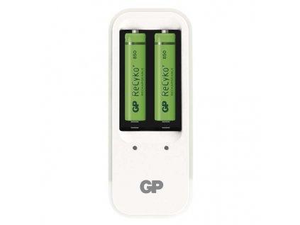 Nabíječka GP PB410 pro AA, AAA + 2x AAA ReCyko+ (850mAh)