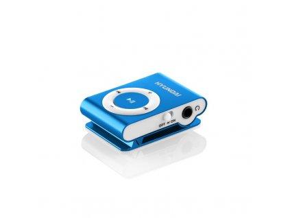 MP3 přehrávač Hyundai MP 213 BU, micro SD, modrá barva