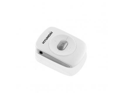 MP3 přehrávač Hyundai MP 214 GB4 , bílo-stříbrná barva