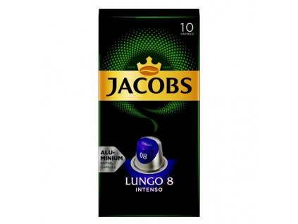 Kapsle Jacobs Lungo Intenso 10ks intenzita 8