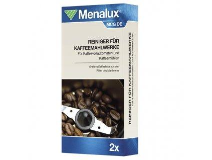 Čistící přípravek Menalux MCG pro mlýnky na kávu plnoaut. kávovarů