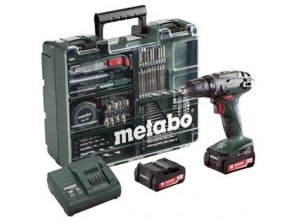 Aku vrtačka Metabo BS 14.4 Set MD 602206880