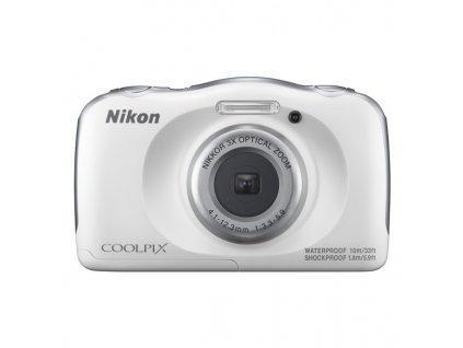 Fotoaparát Nikon Coolpix W100 bílý + dětský batoh ZDARMA