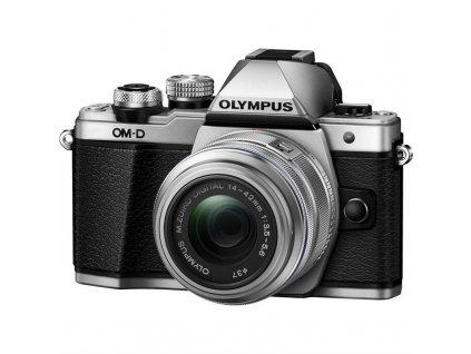 CSC fotoaparát Olympus E-M10 Mark II + 14-42 II, stříbrný