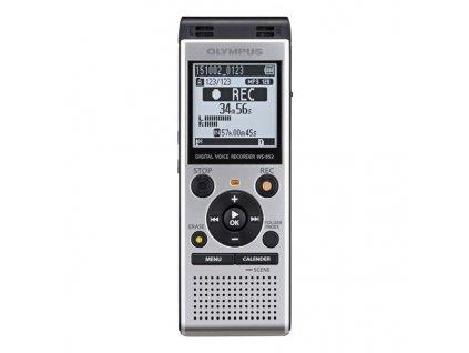 Diktafon Olympus WS-852, stříbrný