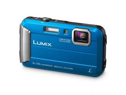 Fotoaparát Panasonic DMC-FT30EP-A, modrý