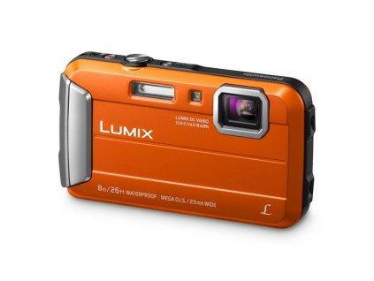 Fotoaparát Panasonic DMC-FT30EP-D, oranžový