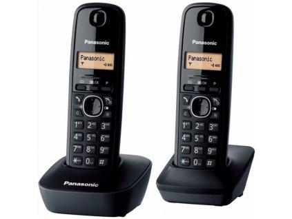 Domácí telefon Panasonic KX-TG1612FXH - šedý