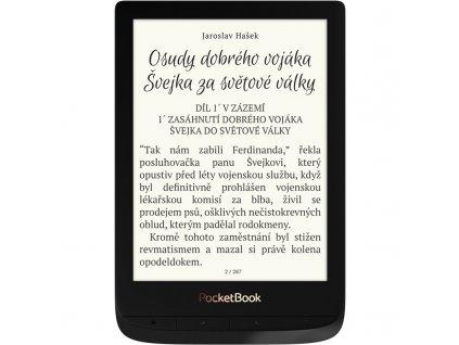 Čtečka e-knih Pocket Book 627 Touch Lux 4 - černá