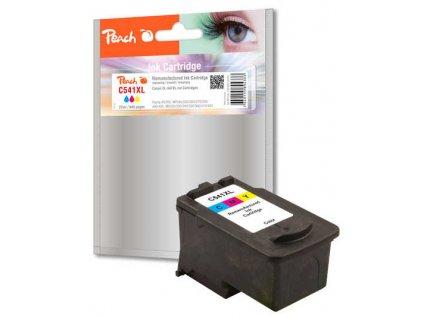 Inkoustová náplň Peach Canon CL-541XL, 400 stran, kompatibilní - červená/modrá/žlutá