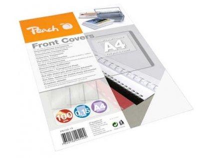 Vázací set Peach přední desky, A4, 100ks