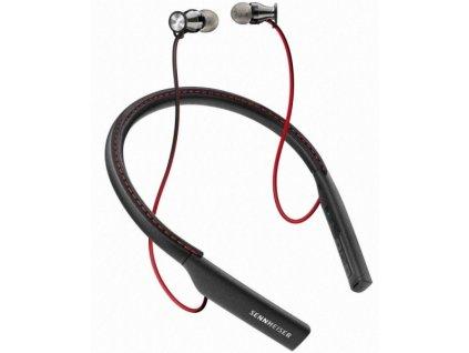Sluchátka Sennheiser Momentum In-Ear Wireless - černá/červená