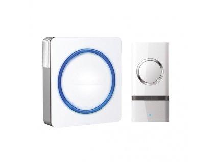 Zvonek bezdrátový Solight 1L20, do zásuvky, 120m - bílý
