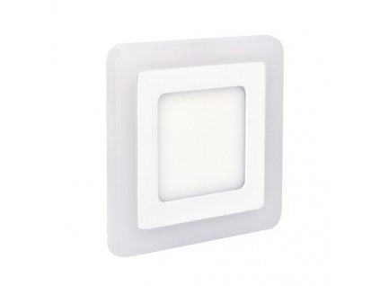 LED panel Solight čtverec, 245 x 245 mm, 18W + 6W, 1530lm - bílý