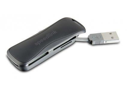Čtečka paměťových karet Speed Link Carrea, USB 2.0